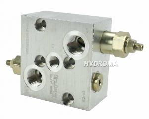 ventil brzdící - oboustranný, přírubový