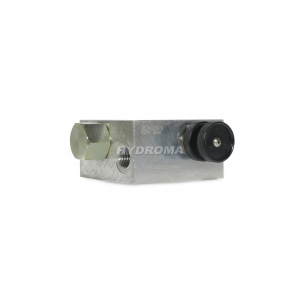 ventil škrtící - třícestný s pojistným ventilem