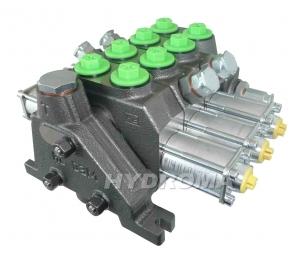 rozváděč hydraulicky ovládaný